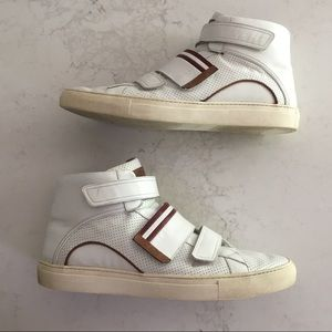 "Custom Bally ""Herick"" high-top sneaker SIZE 15"
